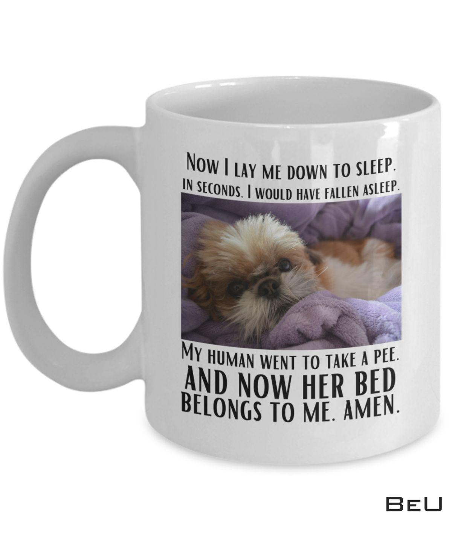 Shih Tzu Now I Lay Me Down To Sleep Mug