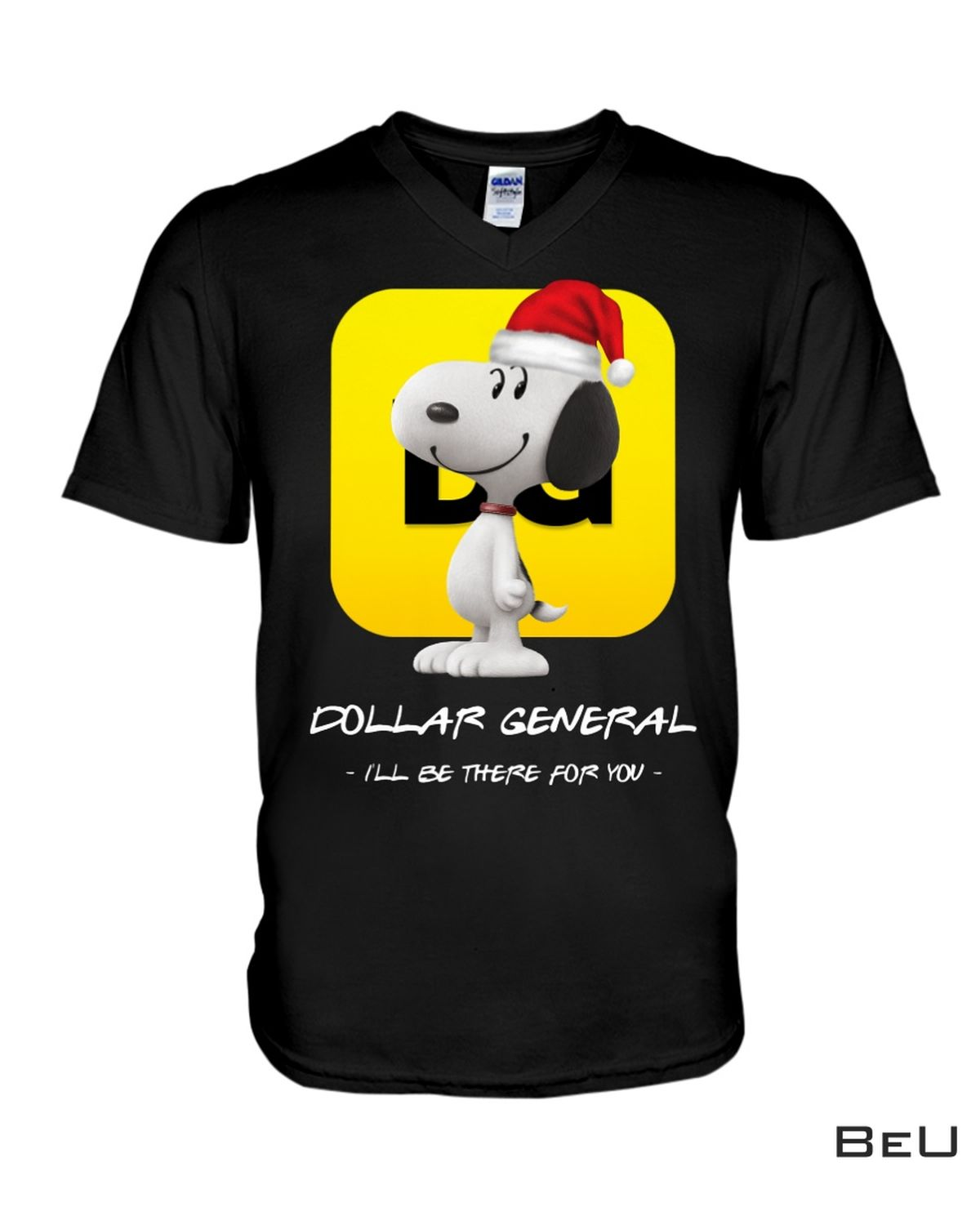 Father's Day Gift Snoopy Dog Dollar General I'll Be There For You Shirt