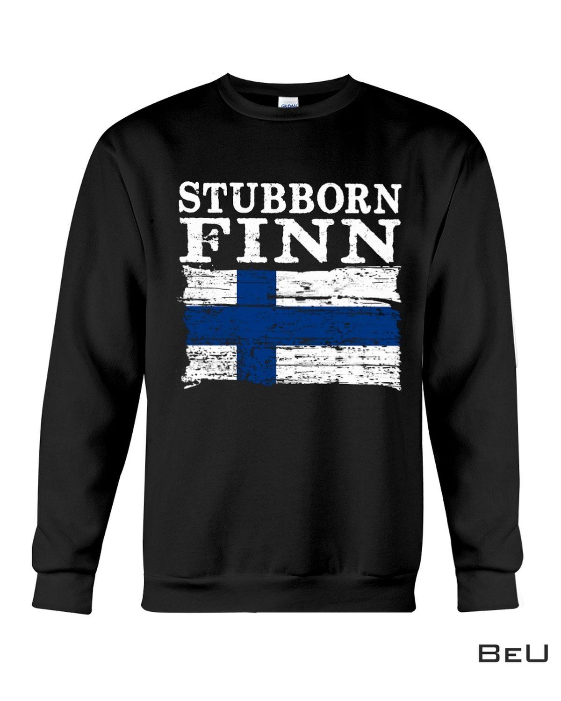 Review Stubborn Finn Shirt
