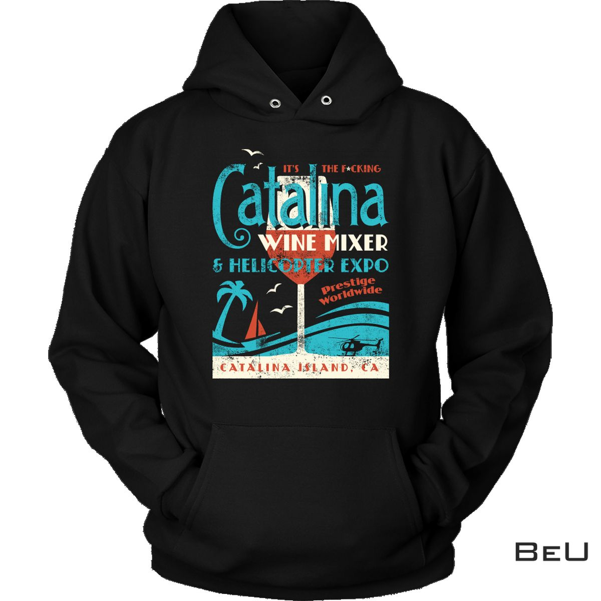 The Catalina Wine Mixer & Helicopter Expo Shirt