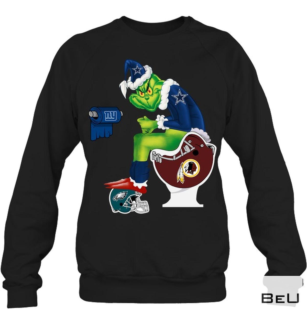 Fantastic The Grinch Christmas Sport Teams Shirt