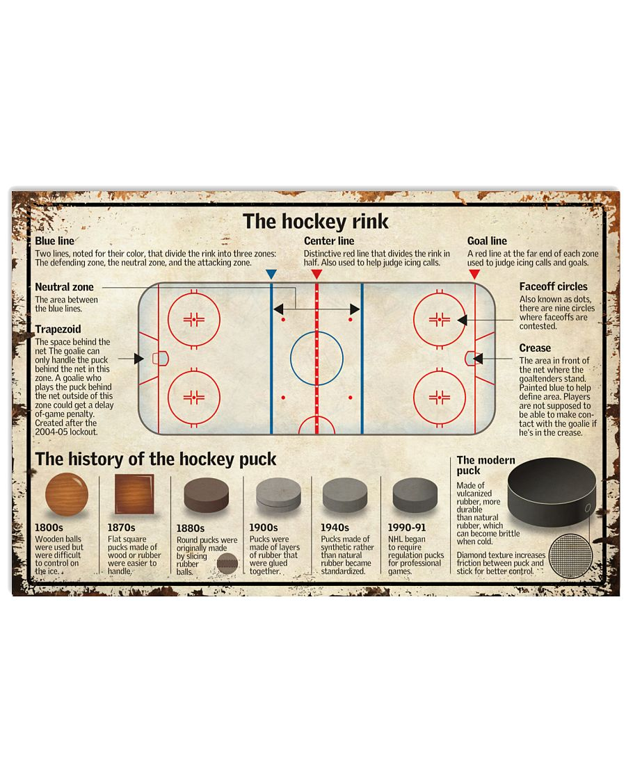 The Hockey Rink Poster