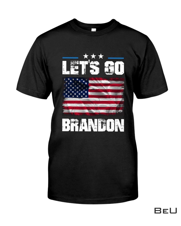 Us Flag Let's Go Brandon Shirt