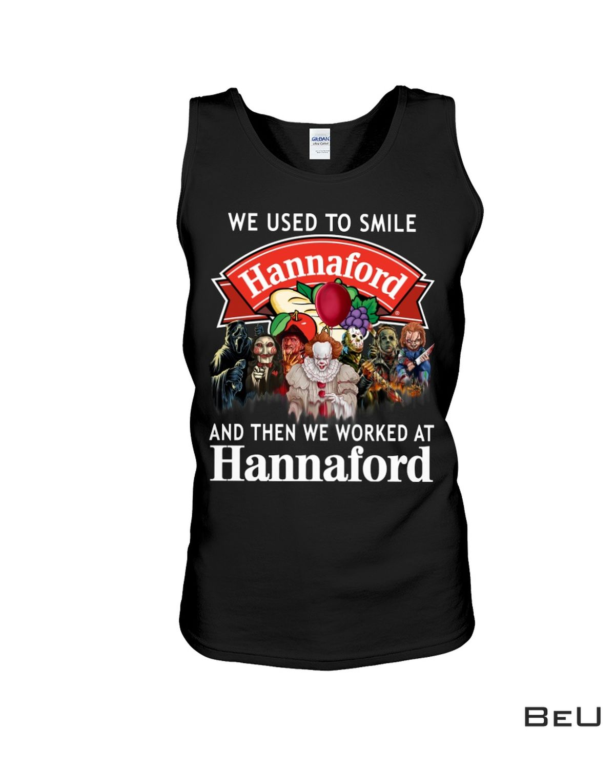Unique We Used To Smile And Then We Worked At Hannaford Shirt