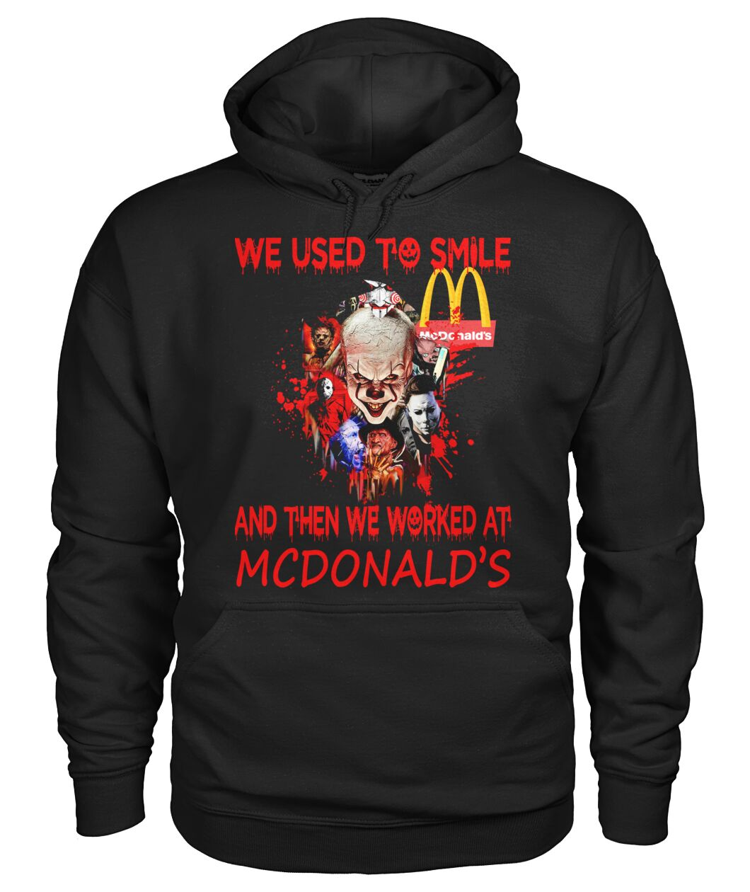 Amazing We Used To Smile And Then We Worked At Mcdonald's Shirt
